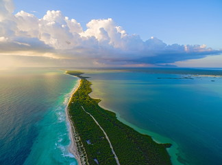 Stunning view to lagoon