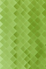 Green gradient geometric background