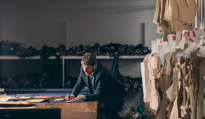 Tailor Working at His Atelier