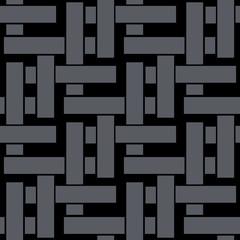 Abstract glitch blocks. Seamless pattern. Abstract irregular striped block motif. Seamless pattern.