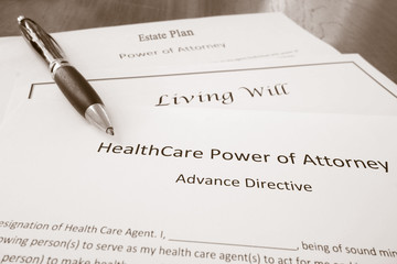 Power of Attorney, Estate Plan and Living Will