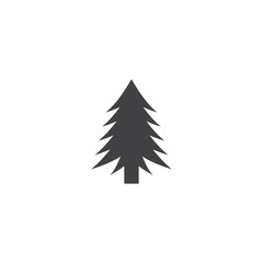 Pine tree icon. sign design