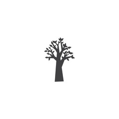 tree icon. sign design