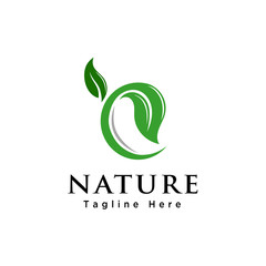 Grow Leaf nature logo