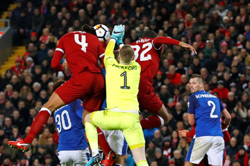 FA Cup Third Round - Liverpool vs Everton