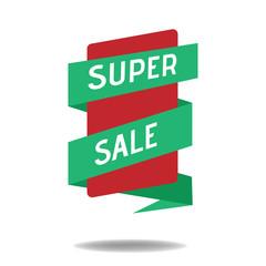 Sale Discount/Super Sale Banner Design Template