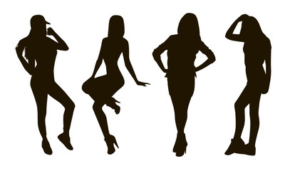 Girl Silhouettes