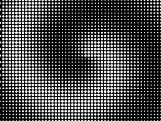 Moire Stippled Halftone Background  - Grunge Vector Op Art