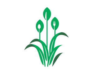 paddy field icon agricultural agriculture harvest farming image vector