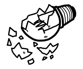 Spark Plug Cartoon