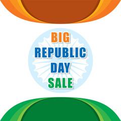 republic day sale banner design