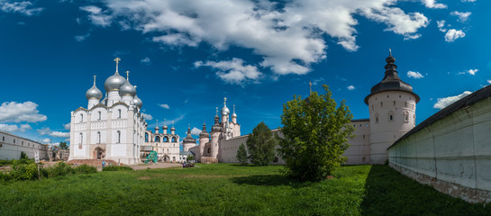 On the territory of the Rostov Kremlin. Rostov. Russia.