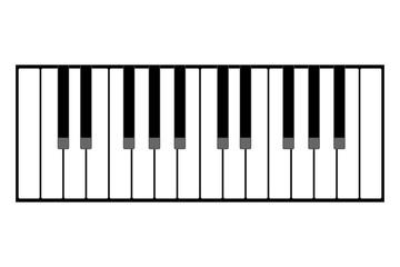 Accordion keyboard illustration
