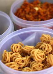 Indian street food snacks