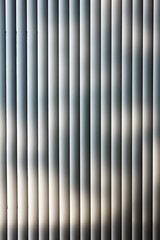 Jalousie. Background. Blinds with shades of the sun