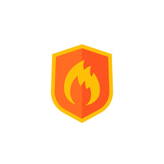Fire protection vector icon