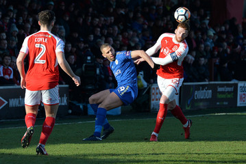 FA Cup Third Round - Fleetwood Town vs Leicester City