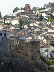 Castillo de Cazorla, pueblo bonito de Jaén, en la comunidad autónoma de Andalucía, España.