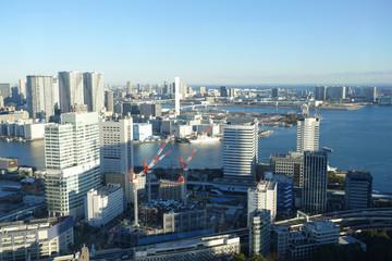 Landscape of Tokyo City Japan