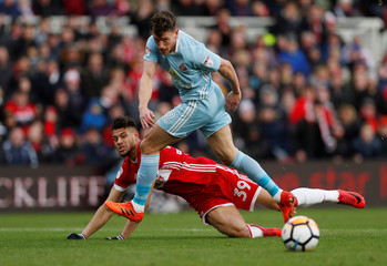 FA Cup Third Round - Middlesbrough vs Sunderland