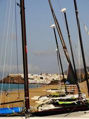 Blick Richtung Morro Jable auf Fuerteventura