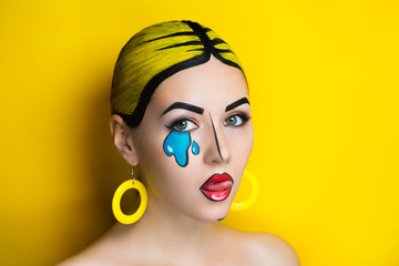 pop art make up