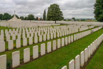 Tyne Cot WW1 Cemetry near Ypres