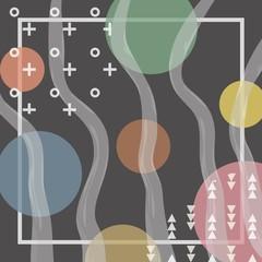 Abstract contemporary design
