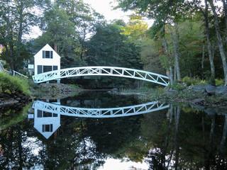 Brücke im Acadia National Park
