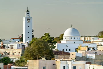 Mosque of Sidi Ali bin Saleh in Le Kef, Tunisia