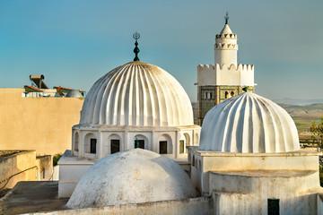 Sidi Bou Makhlouf Mosque at El Kef in Tunisia