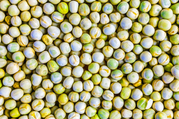 Green peas as background