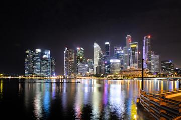 Skyline Singapur