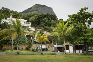 Rich district in Rio de Janeiro city, Brazil