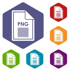 File PNG icons set