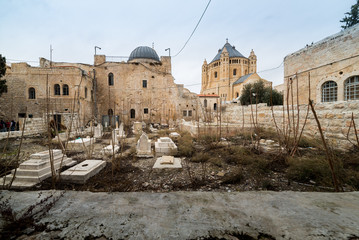 Abbey of the Dormition in Jerusalem