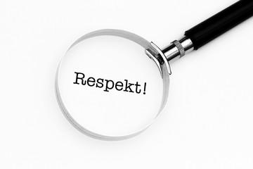 Respekt im Fokus
