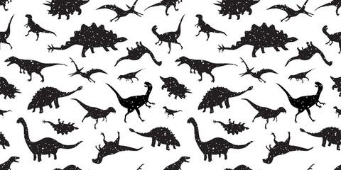 dinosaur Seamless Pattern dino vector isolated wallpaper background