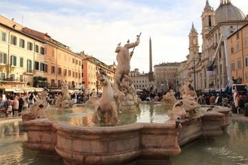 Place Navone - Piazza Navona - Italie