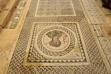 Zypern - Kourion antikes Bodenmosaik