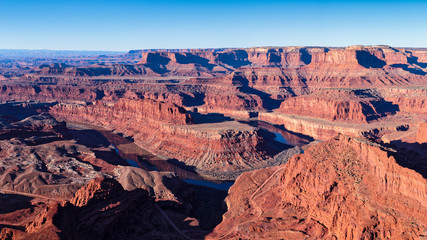 Dead Horse Point with the Colorado River near Moab, Utah