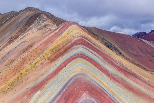 Vinicunca, Cusco Region, Peru.