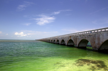 Old Seven Mile Bridge Florida Keys