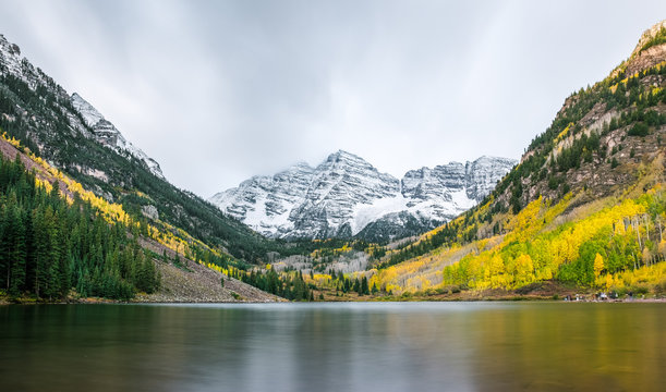 Marron Bells in Colorado