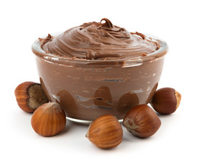 Hazelnut chocolate cream