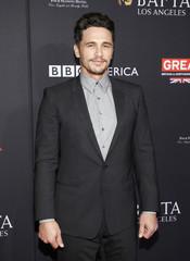 Actor James Franco poses at the BAFTA Los Angeles Awards Season Tea Party in Los Angeles