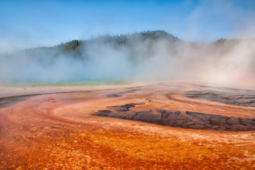 Wall Mural - Grand Prismatic Spring