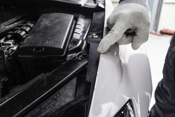 profi foliert auto mit glänzender folie car wrapping auto folierung
