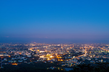Chiang Mai, Thailand  city skyline