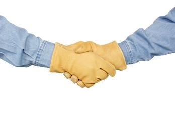 Constriction Handshake